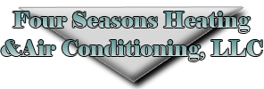 4 season heating and air conditioning logo